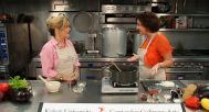 Lori and Michelle Rehwinkel Vasilinda Prepare Three Cheese Baked Ziti